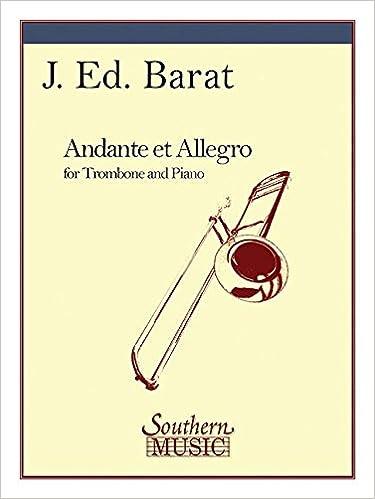 André Chailleux: Andante et Allegro: Alto Saxophone