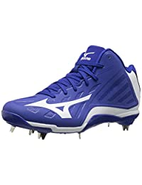 Mizuno Men's Heist Iq Mid Baseball Shoe