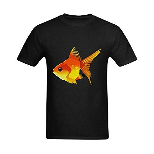 Neryaing Men's Free Swimming Fish Tshirt -