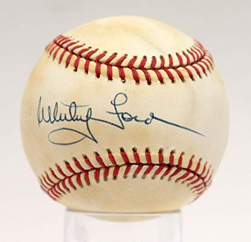 WHITEY FORD YANKEES SIGNED AUTOGRAPHED OAL BASEBALL BALL PSA/DNA #AE93597 (Ball Baseball Oal)