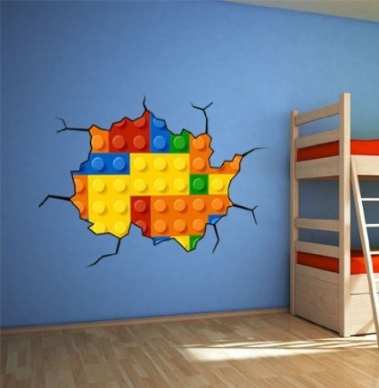 Effect Style Bricks Wall Stickers | 59.1 X 39.4 Inches