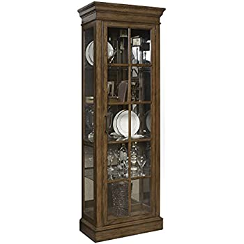 corner by curio gallery cabinet furniture curios in cherry home stores pulaski medallion