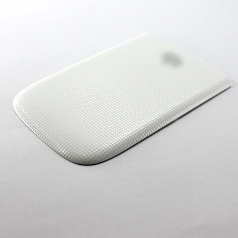 Black Blackberry Faceplates - White Battery Back Door Plate Panel Cover Faceplate Panel Fascia For BlackBerry Torch 9810 Repair