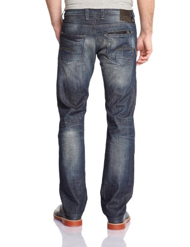 Jeans G Low Dk 5201 Aged Bleu Straight Star Homme Attacc wqIqvU
