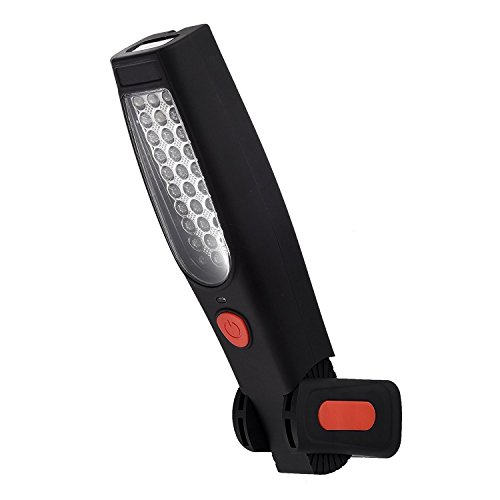Cordless LED Under Ramp Garage Work Light Li-Ion Rechargeable Magnetic Lamp COB