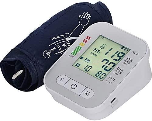 Tensiómetro de brazo Monitor de presión arterial del brazo ...