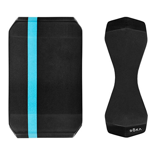 ROKA Pro Pull Buoy Adult Swim Training Aid - Black/Cyan - Regular Size