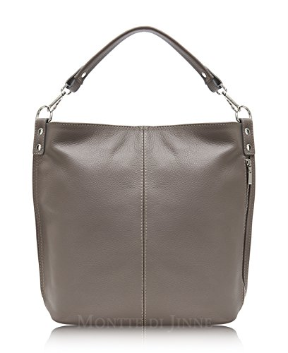 Tote Body 100 Jinne Luxury Shoulder Real Women for Bag Large Gift Di Leather Cinder Montte Italian Cross RAw8v8