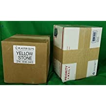 25 lb - Dental Yellow Buff Stone, Type III Lab Stone Yellow - Model Stone for Dental Laboratory and Dental Office