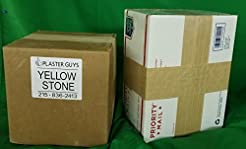 25 lb - Dental Yellow Buff Stone, Type I...