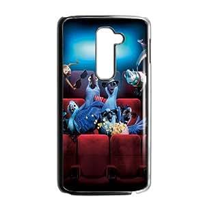 Rio HILDA0013158 Phone Back Case Customized Art Print Design Hard Shell Protection LG G2