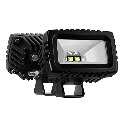 Led Pods, AAIWA 20W Flood Led Light Bar, 2PCS Off Road Lights Backup Driving Lights, Fog Lamp for Truck Jeep ATV UTV SUV Boat Lights