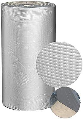 BBGS Algodón Aislante, Película Aislante Térmica Autoadhesiva Gris de 10 M, Revestimiento Térmico Y Frío, Material de Amortiguación de Células Cerradas, Amortiguador de Espuma de PE (Size : 10mm) : Amazon.es: Hogar