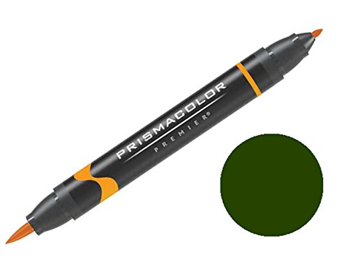 Premier Double-Ended Art Markers dark olive green 028