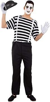 DISBACANAL Disfraz de mimo para Hombre - -, L: Amazon.es ...