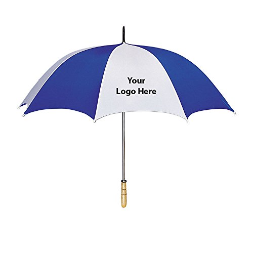 60 Inch Arc Golf Umbrella - 25 Quantity - $10.90 Each - Promotional Product/Bulk with Your Logo/Customized