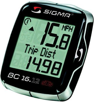 Sigma BC 16.12 STS Wireless Cycling Computer Black