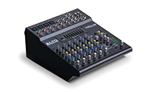 Alto Professional TMX80 DFX, Tabletop 8 Channel powered mixers with 24-BIT DSP FX, Graphic EQ, and 2x350W Class D Power