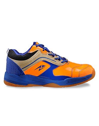 Yepme - Zapatillas de tenis de Material Sintético para hombre multicolor azul y naranja