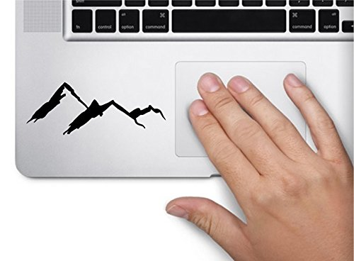 Mountains Silhouette Scenary Nature Computer Laptop Symbol Decal Family Love Car Truck Sticker Window - Laptop Decals Verse Bible