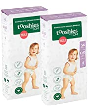 Tooshies by TOM Newborn Bamboo Disposable Eco Nappies