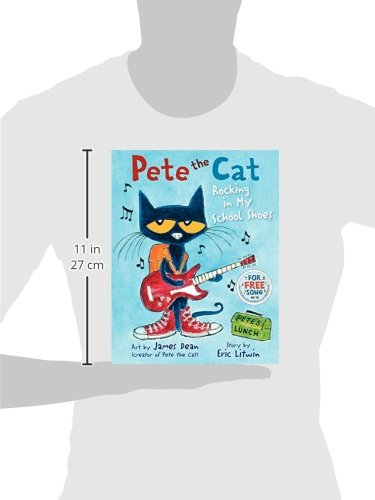 Pete the Cat: Rocking in My School Shoes: James Dean, Eric Litwin ...