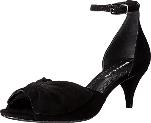 alice + olivia Women's Skylar Heels, Black, 37.5 EU (7.5 B(M) US Women)