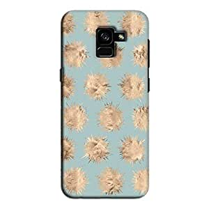Cover It Up - Sand Star Cyan Galaxy A5 2018 Hard Case