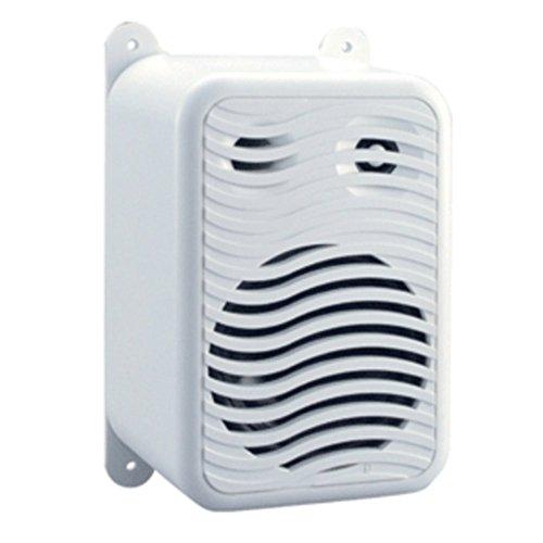 Poly-Planar Dual Gunwale Marine Mount Speakers White Consumer Electronics