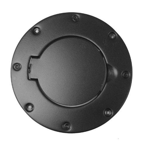 Rugged Ridge 11229.01 Black Powder-Coated Gas Door Cover