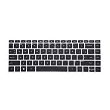 "Leze - Ultra Thin Soft Keyboard Protector Skin Cover for 13.3"" HP Spectre x360 2-in-1 13-w013dx 13-w023dx 13-ac013dx 13-ac023dx 13-ac033dx Series Touch Laptop - Black"