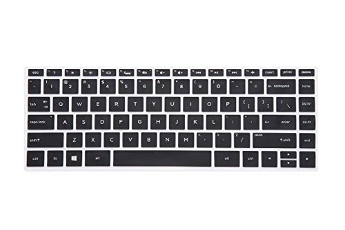 Leze - Ultra Thin Soft Keyboard Protector Skin Cover for 13.3 HP Spectre x360 2-in-1 13-w013dx 13-ac013dx 13-ac023dx 13-ac033dx 13-ac036dx 13-AD 13-AE 13-AF Series Touch Laptop - Black