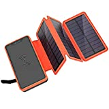 Best Solar Chargers - ORITO Solar Charger 20000mAh, Wireless Power Bank Review