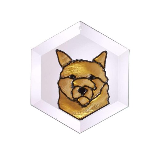(Cairn Terrier Painted Glass Suncatcher (Ew-196))