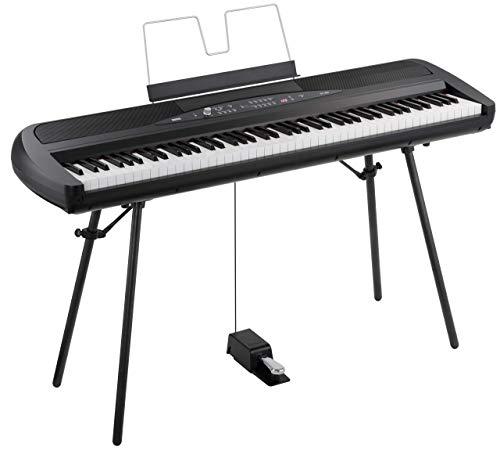 Korg SP280BK 88-Key Digital Piano with Speaker (Renewed)