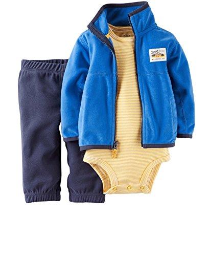 Carter's Baby Boys' Ranger Scout 3-Piece Cardigan, Bodysuit & Pants