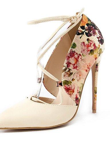 Textiles / Home ZQ los zapatos de tac¨®n de primavera/verano/oto?o/en punta del dedo del pie talones del partido de las mujeres&?noche/vestido/, red-us8/eu39/uk6/cn39, red-us8/eu39/uk6/cn39 beige-us6.5-7 / eu37 / uk4.5-5 / cn37