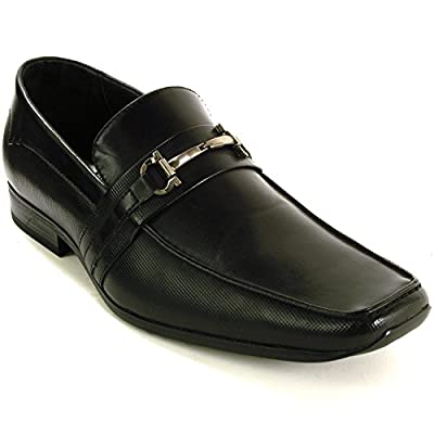 Alpine Swiss Stelvio Mens Suede Lined Slip On Tapered Buckle Loafers RUNS NARROW