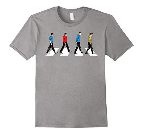 Mens Star Trek Tribute To The Beetles Abbey Road T-Shirt XL (Shirt Colors Star Trek)