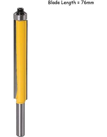 B Blesiya 2pcs 8mm Queue Nettoyage Droit//Routeur Dado 5mm 18mm Outil De Coupe