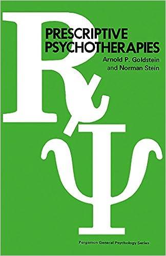 Download book on ipod touch Prescriptive Psychotherapies: Pergamon General Psychology Series MOBI