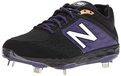 New Balance Mens 3000v4 Black Size: 7