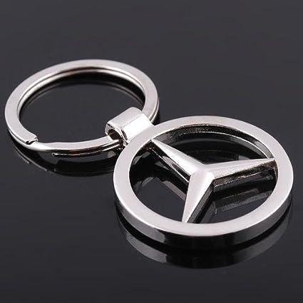 Amazon Com Mercedes Benz Car Keychain Car Logo Key Ring Automotive