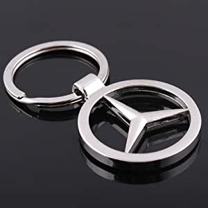 Amazon.com: Llavero para auto con logotipo de Mercedes-Benz ...