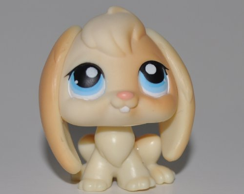 Rabbit #95 (Cream, Blue Eyes) - Littlest Pet