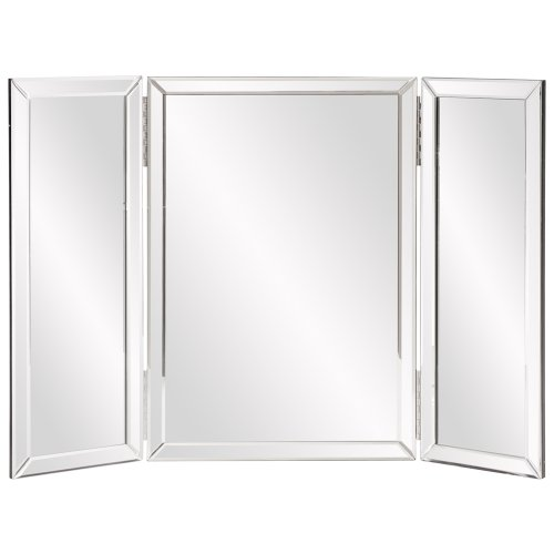 - Howard Elliott Tripoli Trifold Vanity Mirror, Table Top, 21