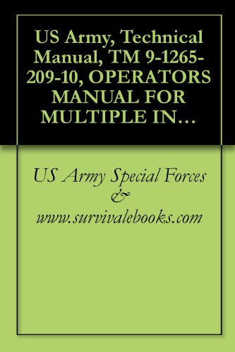 (US Army, Technical Manual, TM 9-1265-209-10, OPERATOR'S MANUAL FOR MULTIPLE INTEGRATED LASER ENGAGEMENT SYSTEM (MILES) SIMULATOR SYSTEM, FIRING, LASER: ... FOR STINGER WEAPON SYSTEM, 1984)