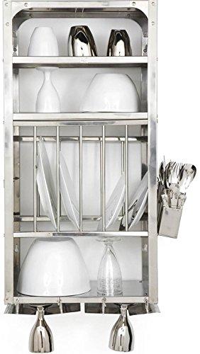 dish display wall rack - 6