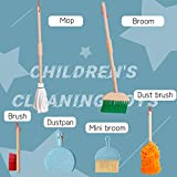 UMTOY Wooden Kids Detachable Cleaning Tool Set Toys