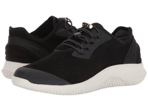 帝国リビジョン引退したDr. Scholl's(ドクターショール) レディース 女性用 シューズ 靴 スニーカー 運動靴 Flyer - Black Mesh [並行輸入品]